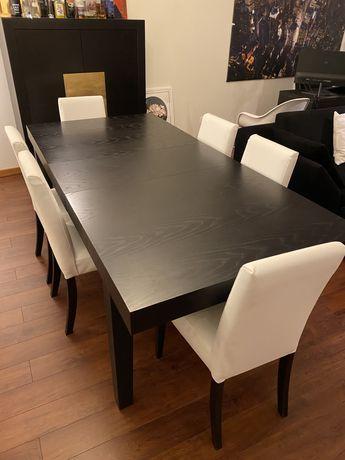 Oportunidade AREA - Mesa de jantar extensivel com 6 cadeiras