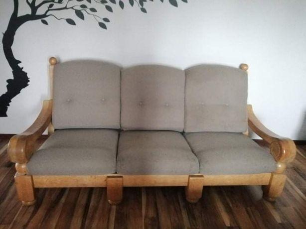 Meble kanapa plus fotele