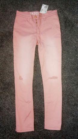 Skinny legginsy spodnie Nowe H&M r 140