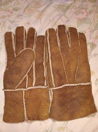 Перчатки мужские (овчина натуральная)
