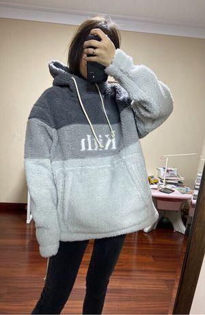 KITH hoodie pêlo Sherpa