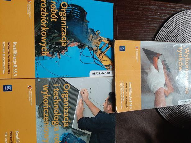 Podręczniki do nauki zawodu,technik budownictwa.