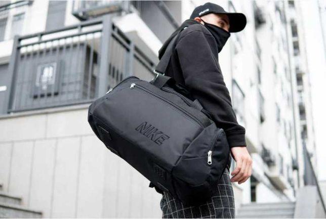 Большая мужская сумка для спорта  Nike для тренировок найк дорожная 39