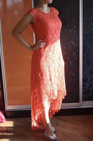 Вечернее платье каскад. размер S/M
