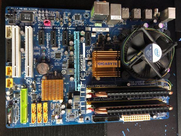 Gigabyte GA-EP43-S3L, Core 2 Quad, 4gb Ram