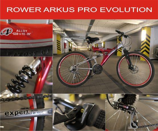"Rower Arkus MTB rama 18"" koła 26"" Amortyzatory"