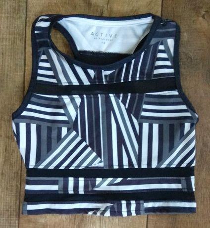 Топ спортивный топик футболка майка для спорта для девочки девушки