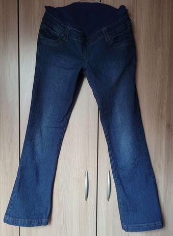 Spodnie/jeansy ciążowe M/38