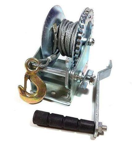 Wyciągarka wciągarka ręczna korbowa linowa 454kg