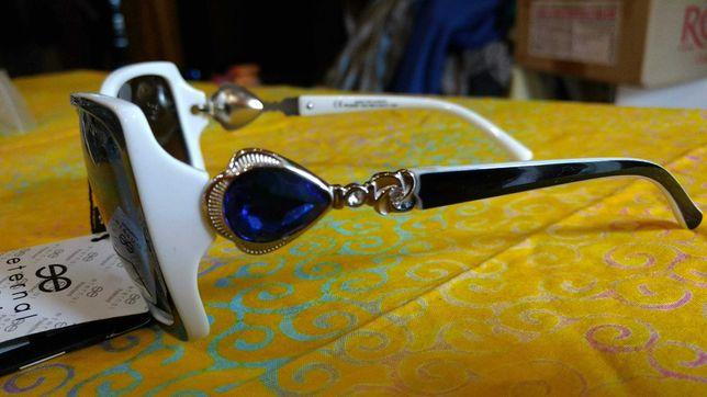 Очки солнцезащитные женские. Поляризация и 100% защита от УФ лучей