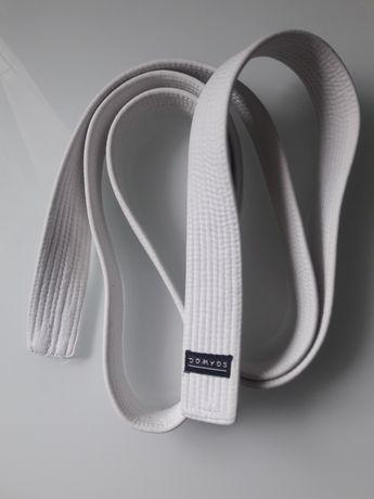 Biały Pas do kimona Domyos