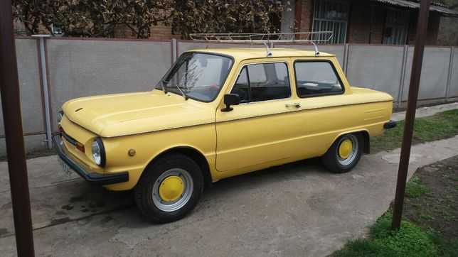 Запорожец козак ЗАЗ 968М