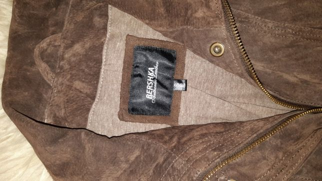 Куртка нат замш бержка