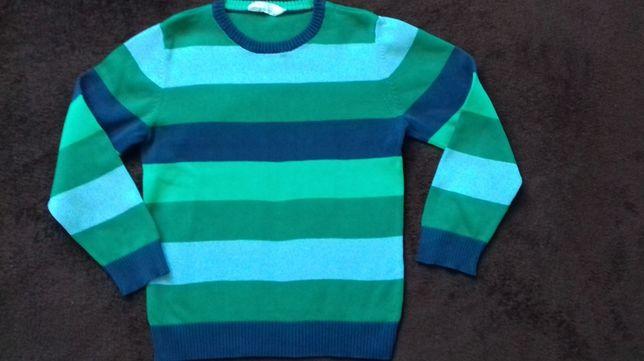 Śliczny sweter H&M rozm. 110/116 Tanio!