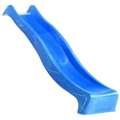 Ślizg zjeżdżalnia fala 2,5 m - Najdłuższa - Niebieski - NOWOŚĆ - WODNA