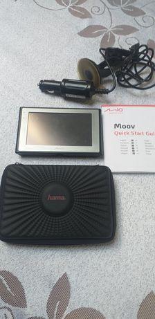 """Nawigacja MIO MOOV 500 4, 7"""" z futerałem i kartą SD4GB jak nowe"""