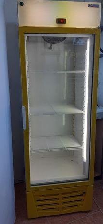 Armário de conservação de porta de vidro