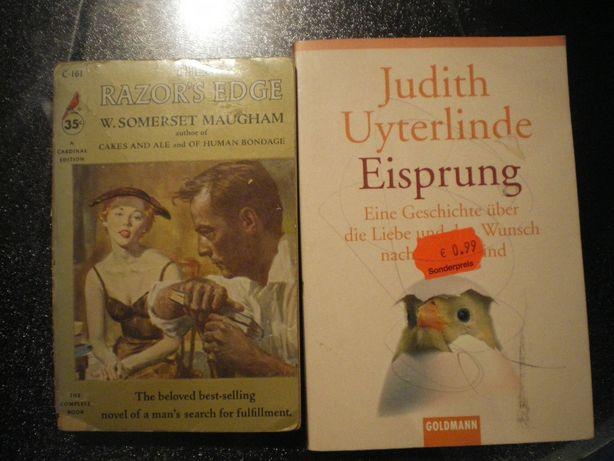 Книги на немецком и английском языках. Детектив