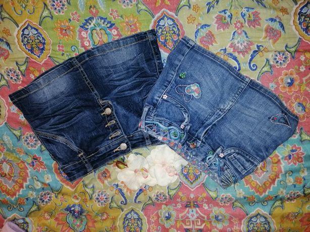 Джинсовые юбочки
