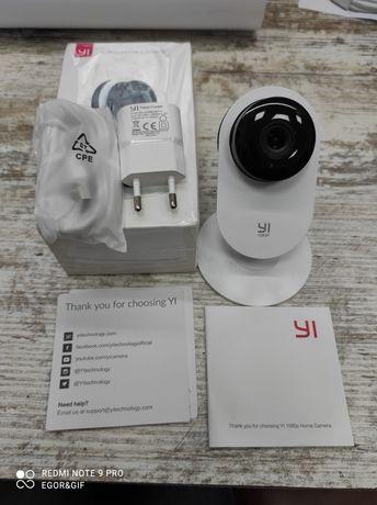 IP Камера Xiaomi Yi Home Camera 1080p HD White видеоняня