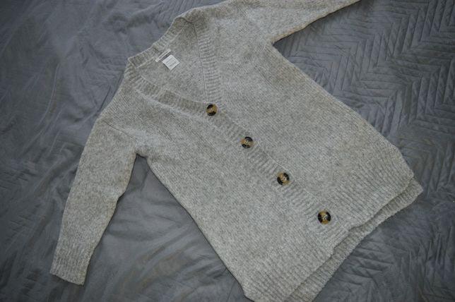 Zara sweterek szary dłuższy 134 i 140 idealny