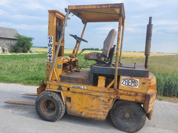 Wózek Widłowy Zremb Gpw 2009 P Perkins 3 Widlak Rak Transport