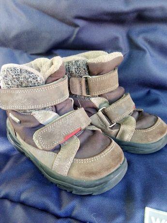 Зимние ботинки chicco 26 размер