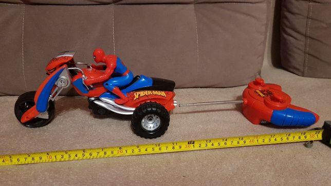 spiderman motocykl