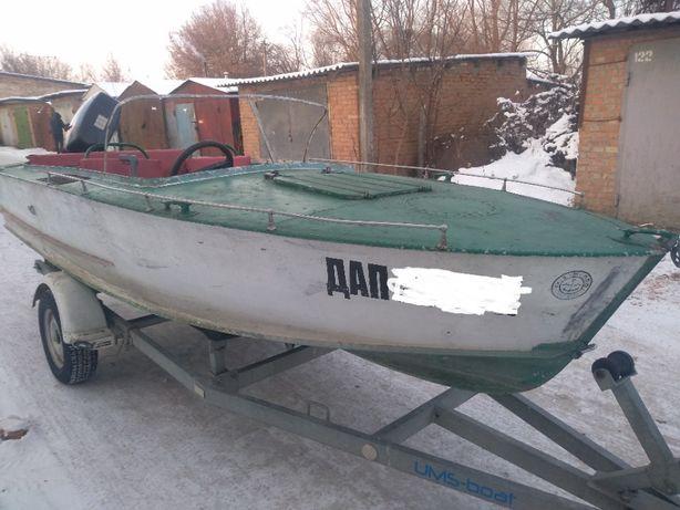 Комплект: лодка, мотор, лафет Прогресс 2 Suzuki DT40