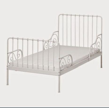 Łóżko rozsuwane dla dziewczynki 1-osobowe