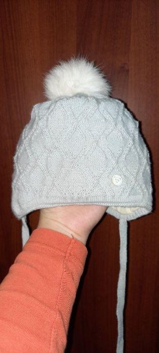 Зимняя шапка на мальчика 6 мес Одесса - изображение 1