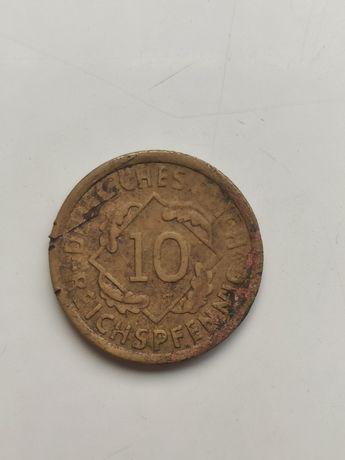 Moneta 10 Reichspfennig 1925