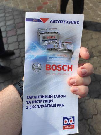 Акумулятор Bosh 60A