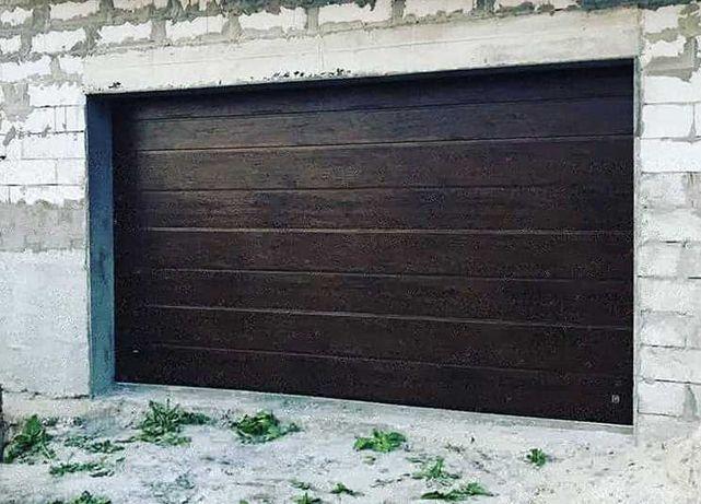 Секционные ворота в гараж, на СТО, мойку. Подъемные гаражные ворота