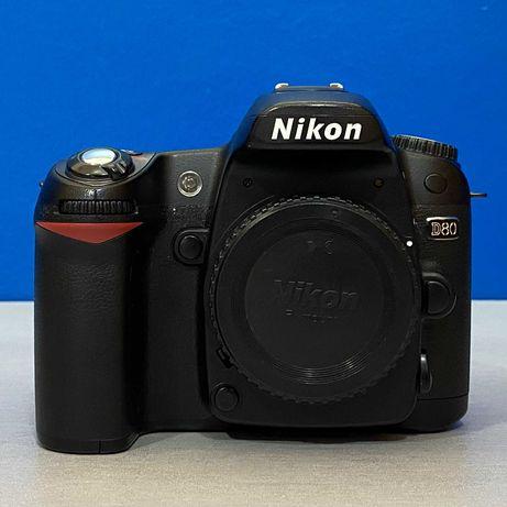 Nikon D80 (Corpo) - 10.2MP