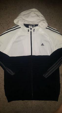 Adidas- sliczna bluza xl z kapturem nowa