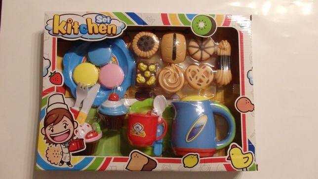 Zestaw kuchenny dla dzieci ciasteczka , desery, słodycze