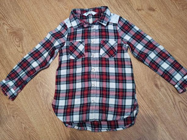 Рубашка, блузка на кнопках 104