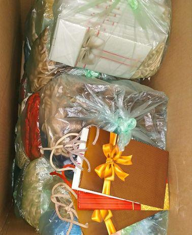 Продам новые бумажные подарочные пакетики