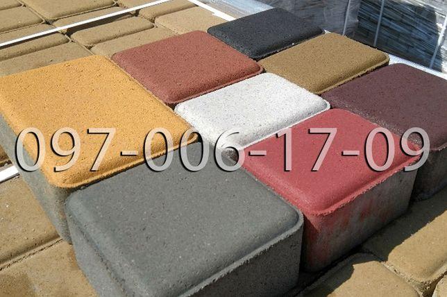 Тротуарная плитка и бордюр от производителя - Акция! - Гарантия