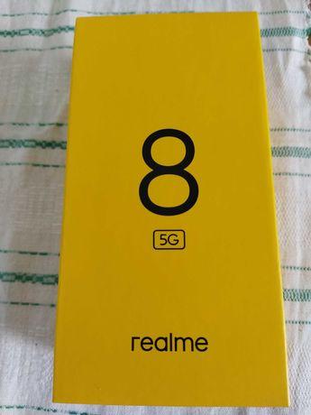 REALME 8 - 5G zaplombowany, na Gwarancji Producenta, czarny