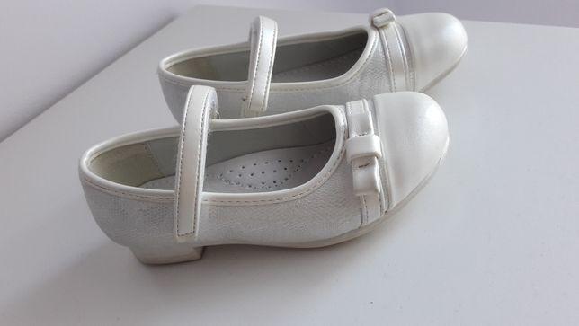Lakierki pantofelki dla małej damy roz 26