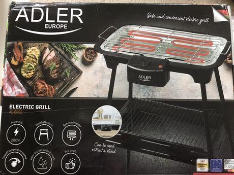 Nowy grill elektryczny adler