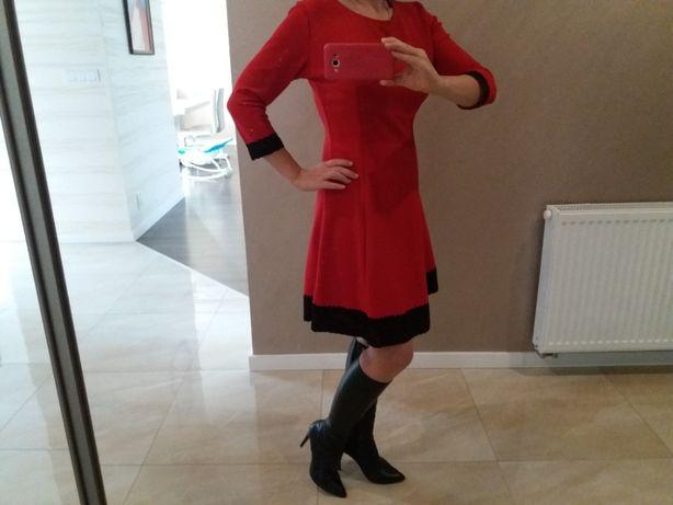 Sukienka czerwona L