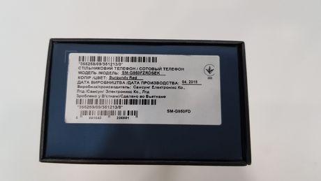 Самсунг Galaxy S8 duos 64Gb (G950FD) Burgundy Red