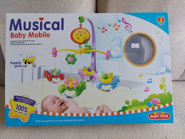Музикальний дитячий мобіль
