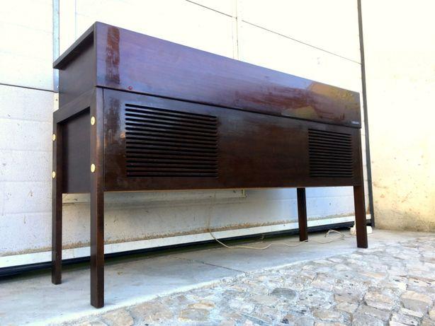 Aparador rádio gira discos philips a funcionar 119comp X 36prof X 68al