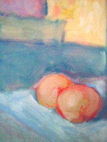 Martwa natura Obraz olejny na płycie 29,5 x 40