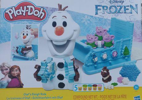 Play-Doh Frozen Kraina Lodu 2 nowy zestaw ciastolina Olafa Hasbro