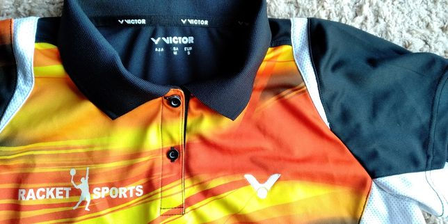 Спортивная футболка рубашка для девочки подростка VICTOR